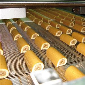 Rollimix rolling up system with cream and jam co-extrusion